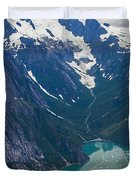 Alaska Coastal Duvet Cover by Mike Reid