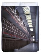 Alcatraz Cell Block Duvet Cover by Paul W Faust -  Impressions of Light