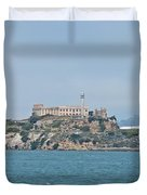 Alcatraz Island Duvet Cover by Cassie Marie Photography