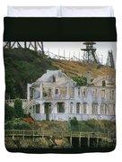 Alcatraz Skeleton Duvet Cover by Paul W Faust -  Impressions of Light