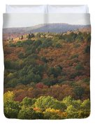 Algonquin in Autumn Duvet Cover by Cale Best