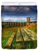Alwen Reservoir Duvet Cover by Adrian Evans
