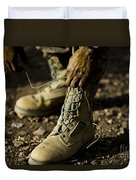 An Air Force Basic Military Training Duvet Cover by Stocktrek Images