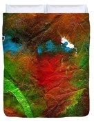 An Earthy Feeling Duvet Cover by Angela L Walker