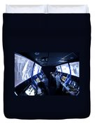 An Interactive Display Room Duvet Cover by Stocktrek Images