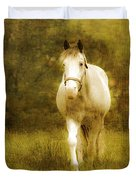 Andre On The Farm Duvet Cover by Trish Tritz