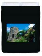 Annaberg Ruins Duvet Cover by Kathy Yates