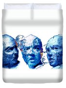 Anxiety And Alternate Universes Duvet Cover by Adam Long