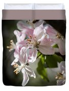 Apple Blossom Duvet Cover by Ralf Kaiser
