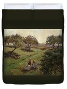 Apple Orchard Duvet Cover by Luther  Emerson van Gorder