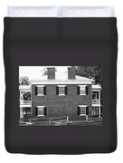 Appomattox Courthouse Duvet Cover by Teresa Mucha