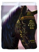 Arab Horse Duvet Cover by MGL Studio - Chris Hiett