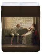 'as You Like It' Duvet Cover by Charles C Seton