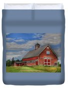 Atco Farms - 1920 Duvet Cover by Lori Deiter