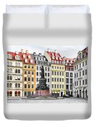 Augustus II The Strong -  A Legend Lives On In Dresden Duvet Cover by Christine Till