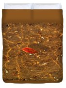 Autumn Afloat Duvet Cover by Rachel Cohen