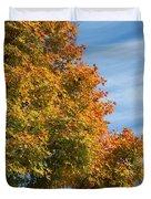 Autumn Anticipation Duvet Cover by Carol Groenen
