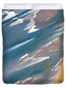 Autumn Day At Palm Beach Sydney Duvet Cover by Sheila Smart