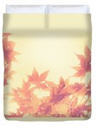 Autumn Sky Duvet Cover by Amy Tyler
