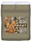 Autumn Texture Duvet Cover by Wayne Sherriff