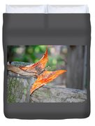 Autumn - The Year's Loveliest Smile Duvet Cover by Christine Till
