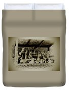Away In The Manger Duvet Cover by Bill Cannon