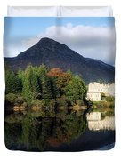 Ballynahinch Castle Hotel, Twelve Bens Duvet Cover by The Irish Image Collection