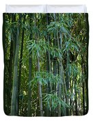 Bamboo Tree Duvet Cover by Athena Mckinzie