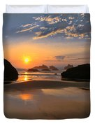 Bandon Scenic Duvet Cover by Jean Noren
