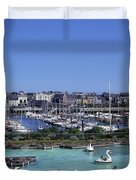 Bangor, Co. Down, Ireland Duvet Cover by The Irish Image Collection