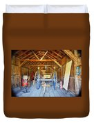 Barn Treasures 2 Duvet Cover by Cheryl Young