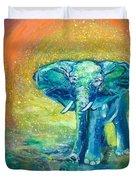 Bathe Me In Thy Light Duvet Cover by Ashleigh Dyan Bayer