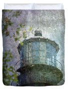Beacon of Hope Duvet Cover by Judy Hall-Folde