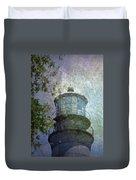 Beacon Of Hope Duvet Cover by Judy Hall-Folde