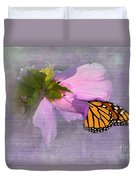 Beautiful In Pink Duvet Cover by Betty LaRue