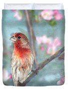 Beautiful Spring Duvet Cover by Betty LaRue