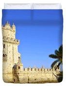 Belem Tower Duvet Cover by Carlos Caetano