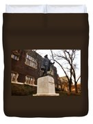 Benjamin Franklin  Duvet Cover by Bill Cannon
