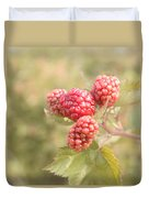 Berry Good Duvet Cover by Kim Hojnacki