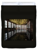 Between Heaven And Earth Duvet Cover by Pat Purdy