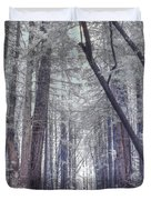 Big Sur State Park Duvet Cover by Jane Linders