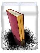 Bleading Book Duvet Cover by Carlos Caetano