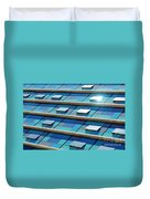 Blue Facade Duvet Cover by Carlos Caetano