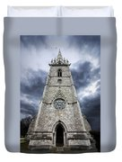 Bodelwyddan Church Duvet Cover by Meirion Matthias