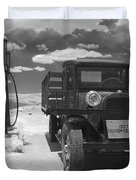 Bodie California - A Trip Back In Time Duvet Cover by Christine Till