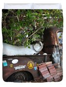B.o.'s Fish Wagon - Key West Florida Duvet Cover by Bill Cannon