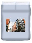 Boston Street Duvet Cover by Elena Elisseeva