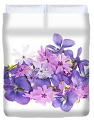 Bouquet Of Spring Flowers Duvet Cover by Elena Elisseeva