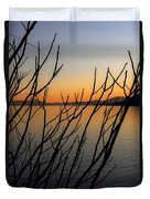 Branches In The Sunset Duvet Cover by Joana Kruse