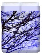 Branches In Winter Duvet Cover by Judi Bagwell